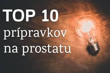 Top 10 přípravkov na prostatu